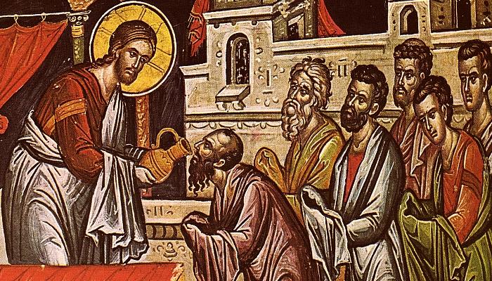 Причастяване на апостолите