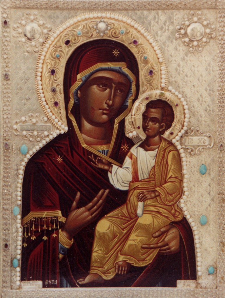 MYRRH-STREAMING ICON OF THE IVERON MOTHER OF GOD
