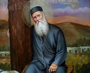 34-Άγιος-Νεκτάριος-Πενταπόλεως-Ελαιογραφία-110cm-x70cm-2012