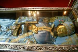 λειψανο αγιος ιωαννης ρωσος